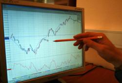 Рынок. ММВБ прибавил 0,36%, бумаги ВТБ - 1,8%