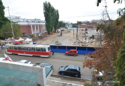 Обсуждаются перспективы движения трамваев через Мирный переулок
