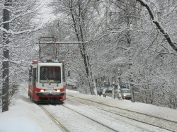 Горели 2 трамвая