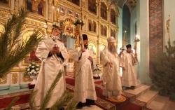 Праздничные богослужения прошли в 142 храмах области
