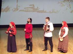 Саратовский ансамбль выступил в Литве