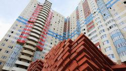 За месяц построено 94 квартиры