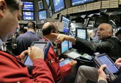 """Рынок. Акции крупных компаний ушли в """"красную"""" зону"""