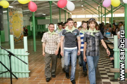 В православный лагерь заехали дети