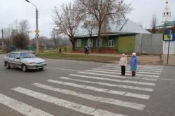 """""""Фиат"""" сбил на переходе троих детей"""