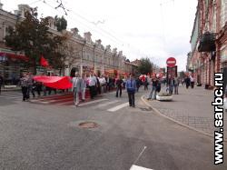 В Саратове - митинг и шествие оппозиции