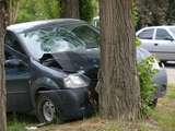 Автомобиль врезался в дерево. Погиб подросток