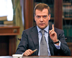 """Медведев: """"... не все решается деньгами. Но без них - никуда"""""""