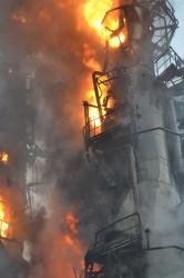 """Пожар на """"Саратовском НПЗ"""". В клинике умер рабочий"""