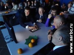 Глава Общественной палаты узнал сколько в нем атомов