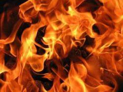 На пожаре погиб человек
