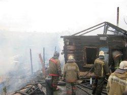 Инвалид погиб в горящем доме