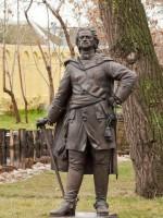 В Энгельсе в частном парке поставили памятник Петру Первому