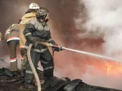 На пожаре погибли двое детей
