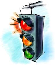 """В Саратове появится светофор """"с предупреждением"""""""