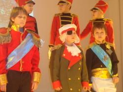 В гимназии отметили юбилеи Бородинского и Сталинградского сражений