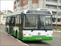 В городе появился низкопольный автобус