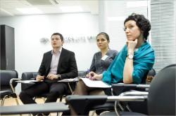 Проводятся тренинги для руководителей компании