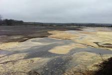 Эксперты забраковали 25 га земли, загрязненной бардой