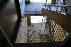 """Совладелец помещения разрушил лестницу, ведущую в помещения НИИ """"Волга"""""""
