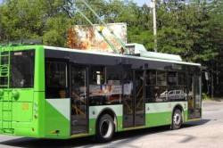 Временно закрывается движение двух троллейбусных маршрутов