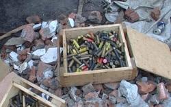 На металлобазе обнаружены боеприпасы