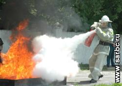 Прошли соревнования добровольных пожарных