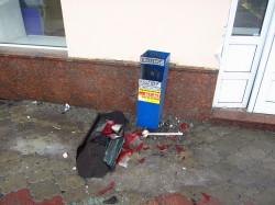 На Московской столкнулись 2 авто. Пострадал человек