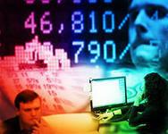 Рынок. На торгах - снижение в преддверии заседания ФПС