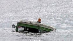 Трактор затонул в реке вместе с водителем