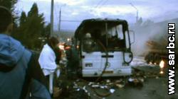 """Загорелся автобус """"Москва-Саратов"""" с 23 пассажирами"""