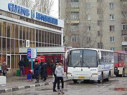 Чиновнику показали обновленный автовокзал