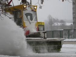 """Чиновник: """"Снег на Театральной площади будут складывать только при крайней необходимости"""""""