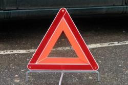 ДТП блокировало движение автомобилей и трамваев