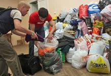 Объявлен сбор гуманитарной помощи для беженцев и переселенцев