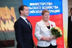 """""""Золотая осень"""". Стенд области осмотрел премьер Медведев"""