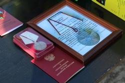 Военный, спасший двоих детей, награжден медалью