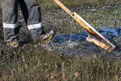 Компанию оштрафовали за загрязнение почвы нефтепродуктами