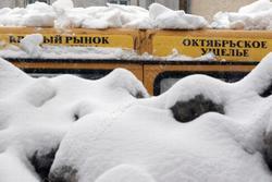 В Саратове от снега  не очищено 1,1 тыс. дворов