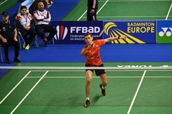 Саратовский бадминтонист стал первым на чемпионате Европы