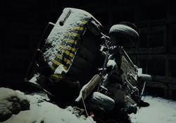 Жигули сбросили в заброшенную ракетную шахту