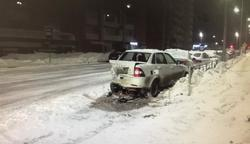 В ДТП на Менякина пострадала женщина, виновник аварии скрылся