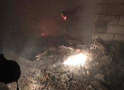 При ночном пожаре в доме погибли пенсионерка и ее сын