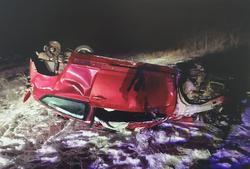 На трассе погиб 20-летний пассажир съехавшего в кювет Ситроена