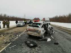 В ДТП на трассе погибли двое взрослых и ребенок