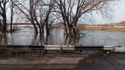 Паводок. Вода затопила два моста в Самойловском районе
