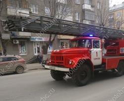 Жильцов пятиэтажки эвакуировали из-за пожара