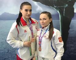 Ушуисты выиграли три российских медали
