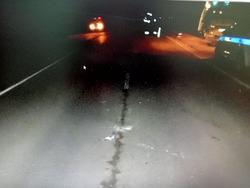 Водитель насмерть сбил девушку на трассе и скрылся