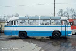 В Парк покорителей космоса отправился ретроавтобус